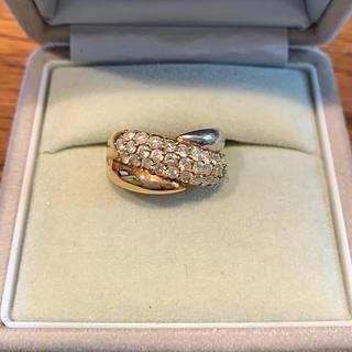 指輪 ゴールドプラチナダイヤ(リング(指輪))