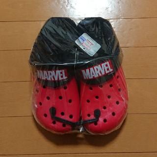 マーベル(MARVEL)のマーベル クロックス ボア付き 24-25cm レッド!!(キャラクターグッズ)