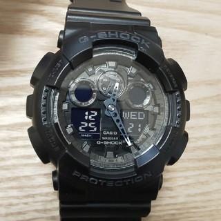 ジーショック(G-SHOCK)のCASIO  G-SHOCK  GA-100CF(腕時計(アナログ))
