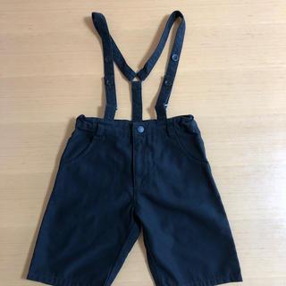 コムサイズム(COMME CA ISM)のコムサイズム フォーマル半ズボン 110㎝ 黒(パンツ/スパッツ)