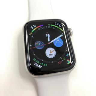 アップルウォッチ(Apple Watch)のapple watch4ステンレス GPS+CELLULAR 44mm(スマートフォン本体)