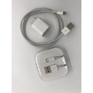 iPhone 充電器 純正 ACアダプター&Lightingケーブル