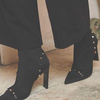 エイミーイストワール(eimy istoire)のeimyスタッズデザインブーツ(ブーツ)