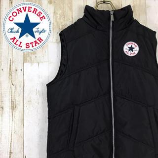 CONVERSE - 90s CONVERSE コンバース ベスト ワンポイント 刺繍ロゴ ブラック