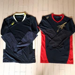 asics - 長袖Tシャツ アシックス メンズLサイズ 2枚セット