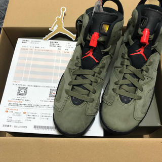 ナイキ(NIKE)のnike air Jordan 6 retro sp (gs) travis(スニーカー)