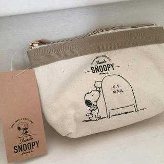 SNOOPY - スヌーピー舟形ポーチレター