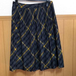ダックス(DAKS)の数回のみ使用 美品 DAKS ダックス スカート サイズ大きめ(ひざ丈スカート)