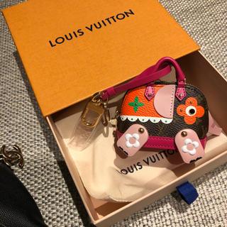 ルイヴィトン(LOUIS VUITTON)のルイヴィトン2019秋冬 新作 ビジューサック・ワイルドパペット(バッグチャーム)