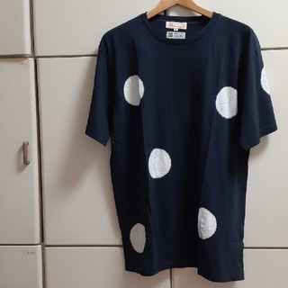 ソウソウ(SOU・SOU)のSOUSOU×le coq sportif コラボ Tシャツ たばた絞り XL(Tシャツ(半袖/袖なし))