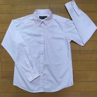 EASTBOY - 洗い替えの一枚に なんちゃって制服のワイシャツ(ピンク)