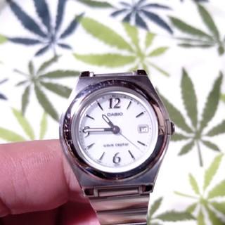 カシオ(CASIO)の電波ソーラー 腕時計 ウェーブセプター lwq-10 アラビア数字(腕時計)