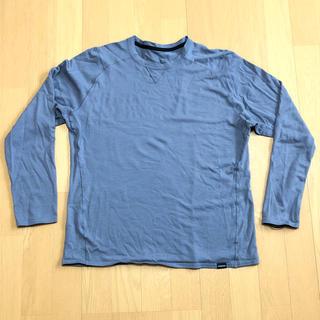 パタゴニア(patagonia)のpatagonia パタゴニア メリノウール Tシャツ サイズL(Tシャツ/カットソー(七分/長袖))
