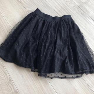 ジーユー(GU)のGU 140cm チュールスカート(スカート)