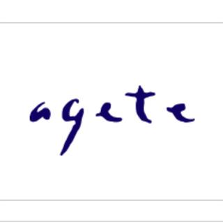 agete - アガット ラブラドライト ネックレス チャーム
