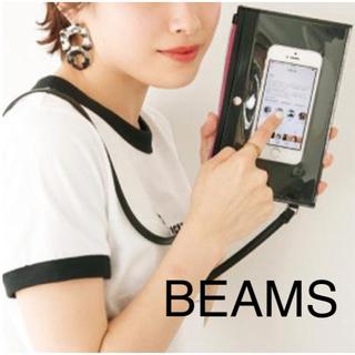ビームス(BEAMS)のBEAMS特製 軽量薄型ポシェット mini付録(ショルダーバッグ)