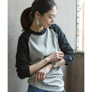 Champion - 最安値送料込み 新品未使用CHAMPION 5.2oz  7分袖ラグランTシャツ