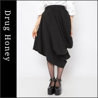 FUNKY FRUIT - 【DrugHoney】アシメ変形バルーンスカート ドラッグハニー