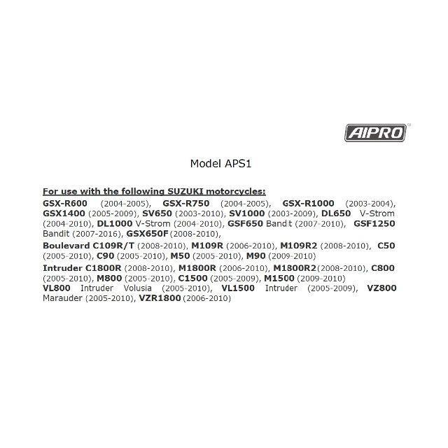 スズキ(スズキ)のアイプロ製★シフトインジケーター APS1 青 GSX1400 GSXR1000 自動車/バイクのバイク(パーツ)の商品写真