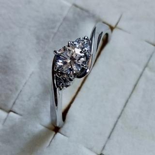 GIA鑑定書 0.314ct  ダイヤモンド プラチナ900