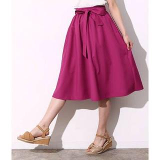 ヴィス(ViS)のVIS ミディアム フレアスカート(ひざ丈スカート)