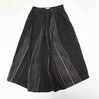 ドリスヴァンノッテン(DRIES VAN NOTEN)のDRIES VAN NOTEN ドリスヴァンノッテン スカート 刺繍 36(ロングスカート)