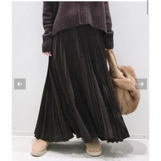 アパルトモンドゥーズィエムクラス(L'Appartement DEUXIEME CLASSE)のアパルトモン♡ Pleats Skirt(ロングスカート)