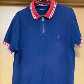 ポロラルフローレン(POLO RALPH LAUREN)のポロラルフローレンのポロシャツ紺色(L)(ポロシャツ)