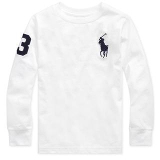 POLO RALPH LAUREN - ★BIG PONY ★ラルフローレンビッグポニー長袖TシャツS/140