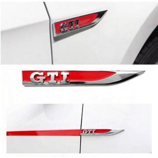 Volkswagen - VWフォールクスワーゲン GTI サイド リアエンブレーム  新品 3点セット