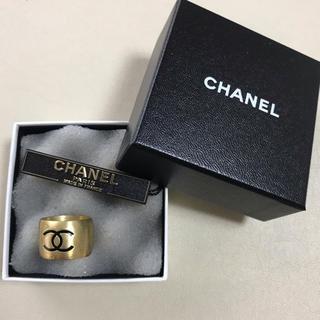 シャネル(CHANEL)の正規品✨CHANEL ゴールドリング(リング(指輪))