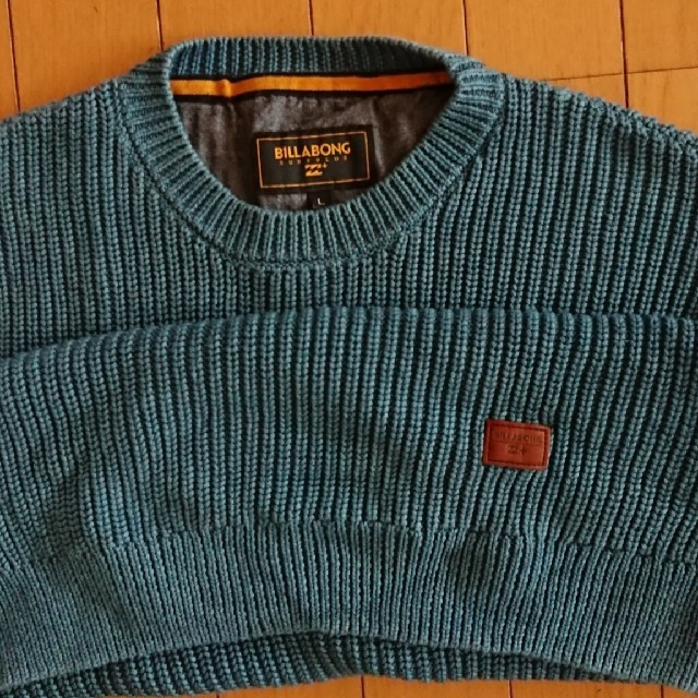 billabong(ビラボン)の値下げ★綿★セーター★ニット メンズのトップス(ニット/セーター)の商品写真