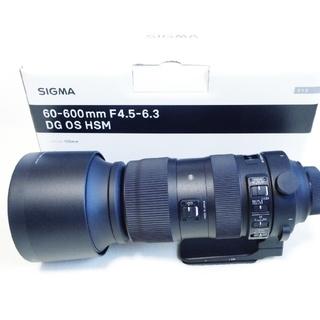 SIGMA - SIGMA 60-600mm NIKON 600mm フィルター付 付属完備