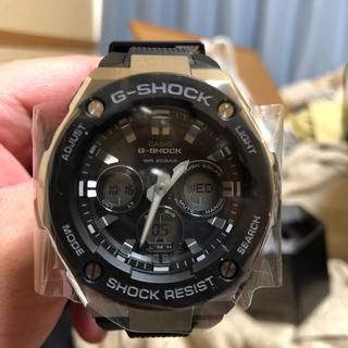 ジーショック(G-SHOCK)のG-STEEL. GST-S300-1ADR(輸入版)(腕時計(アナログ))