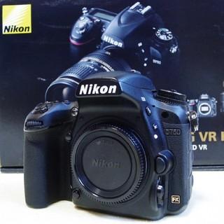 Nikon - ニコン D750 ボディ 箱付 使用少 シャッター5000以下