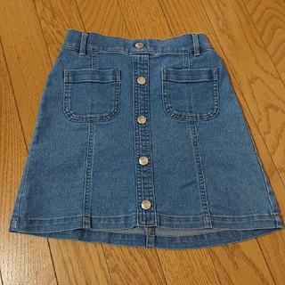ジーユー(GU)のキッズ  スカート  デニム  120(スカート)