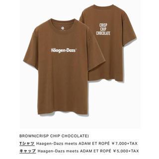 アダムエロぺ(Adam et Rope')のアダムエロぺ  ハーゲンダッツコラボTシャツ(Tシャツ(半袖/袖なし))