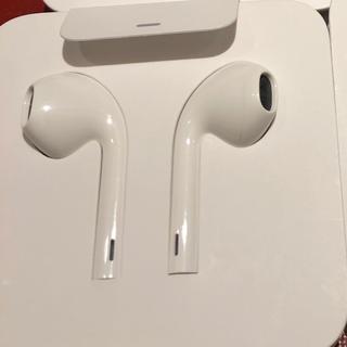 アップル(Apple)のiPhone用イヤホン Apple純正(ヘッドフォン/イヤフォン)