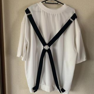 リング付きビッグTシャツ(Tシャツ(長袖/七分))