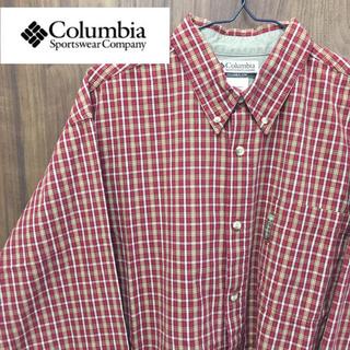 コロンビア(Columbia)の【激レア】コロンビア☆ビッグレトロチェックシャツ 90s(シャツ)