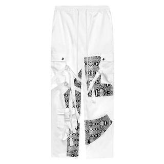 オフホワイト(OFF-WHITE)のrogic ボンテージパンツ ホワイト(ワークパンツ/カーゴパンツ)