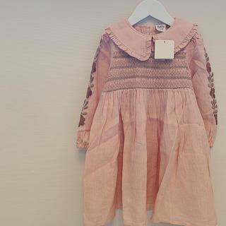 アポリナ 19AW nancy dress 3-5y (ワンピース)