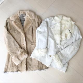 ロイスクレヨン(Lois CRAYON)のファーコート 2着セット サイズM(毛皮/ファーコート)