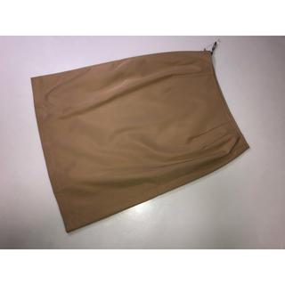 ロートレアモン(LAUTREAMONT)の541◆新品◆ロートレアモン◆スカート ベージュ系 薄茶色系 2号 Mサイズ(ひざ丈スカート)