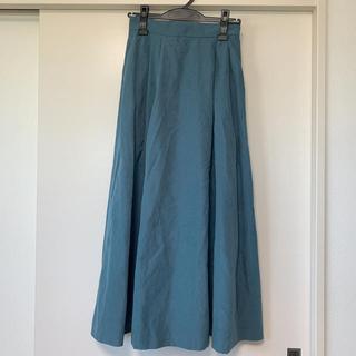 サマンサモスモス(SM2)のTe chichi スウェードスカート(ロングスカート)