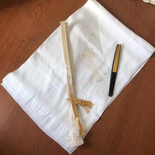 新品♡上質 留袖用 帯揚げ帯締め 末廣 3点セット(和装小物)