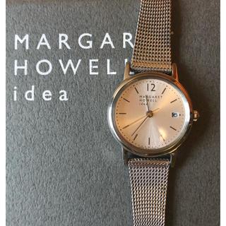 MARGARET HOWELL - 現行品 MARGARET HOWELL idea ダイヤモンド 腕時計¨̮♡︎