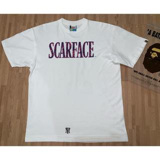 A BATHING APE - ★激レア★ APE × scarface Tシャツ パープル L スカーフェイス