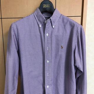 ポロラルフローレン(POLO RALPH LAUREN)のPOLO/ラルフローレン  ギンガムチェック   綿100%シャツ 上質美品(シャツ)
