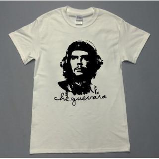 ゲバラ ヘッドホン ロゴ イラスト半袖 Tシャツ utn161
